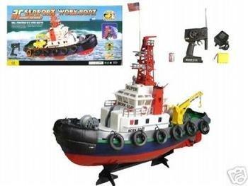 Remote Control Sea Port Tug Boat RC RTT by E-Toysworld