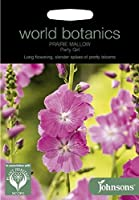【輸入種子】 Johnsons Seeds world botanics Prairie Mallow Party Girl ワールド・ボタニクス プレイリー・マロー パーティーガール ジョンソンズシード