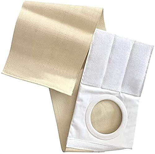 Cinturón De Ostomía Cinturón De Hernia Abdominal Transpirable Estoma Vendaje Suministro De Piel, Paraestomal - Orificio Portátil Reutilizable Fácil Limpieza Para Pacientes Con Colostomía Enfermería