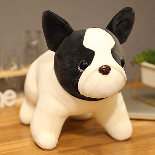 35-120cm Cute Bulldog Doll Juguetes de Peluche Almohada de algodón Relleno de Animales de Peluche Cruce Juguetes de Peluche para Perros habitación de bebé decoración del hogar 45CM Standingposture