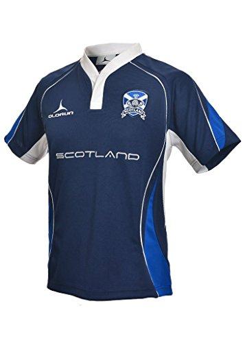 Olorun Rugby Shirt Schottland Fans S-XXXXL 2014/2015 - L