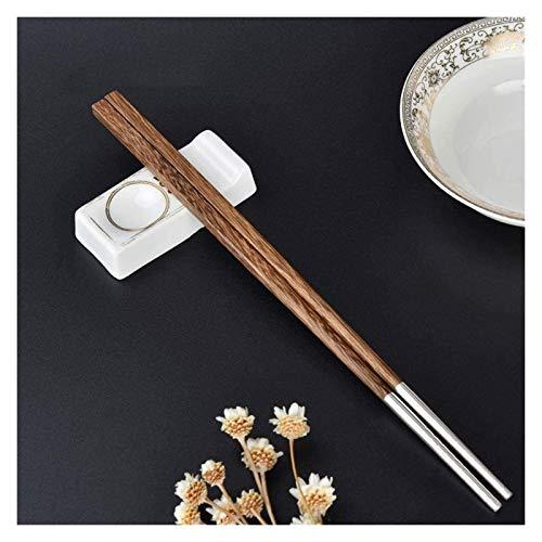 WANGQW Chopstick Reutilizable Set Lavavajillas-Caja fuert Palillos Palillos Chinos, un Conjunto de vajillas, Antideslizante/a Prueba de Hongos (24.8x0.7 cm)