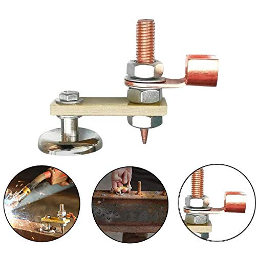 Copper Tail Welding Stability Strong Magnetism Large Suction Absorbable Weight 3KG New Welding Magnet Head 1Pack Single Head Magnetic Welding Support