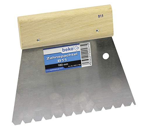 BEKO 2004180 Zahnspachtel B11 180 mm