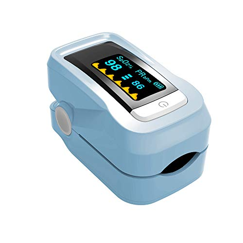 LFTS Oximeter Finger LED-Anzeige% SpO2 Blutsauerstoffsättigung Tragbarer digitaler Haushaltsalarm und PulsmesserProfessionell CE FDA-zugelassen