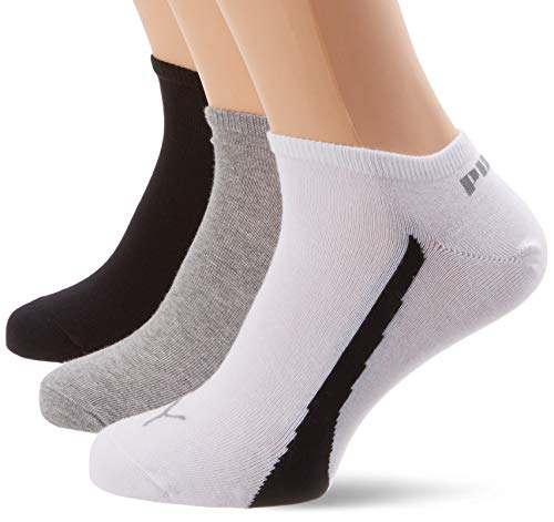 Puma Ring Formstripe, Calcetines unisex, Multicolor (325 White Grey Black), 35-38