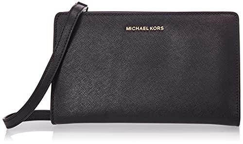 Michael Kors 32F6GTVC3L-134, Cartera de Mano Mujer, Negro (Black), 15x4x25 cm (W x H x L)