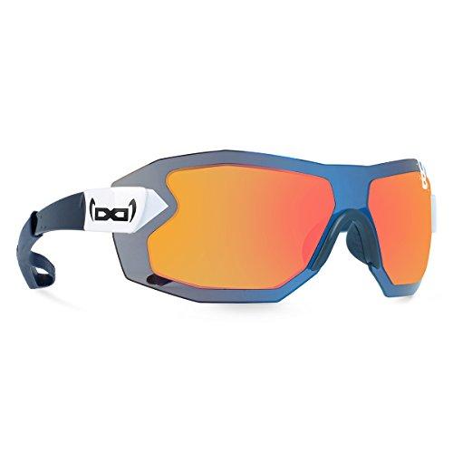 gloryfy unbreakable (G9 RADICAL Helioz) - Unzerbrechliche Sport Sonnenbrille, Rahmenlos, Sun Glasses, Damen, Herren