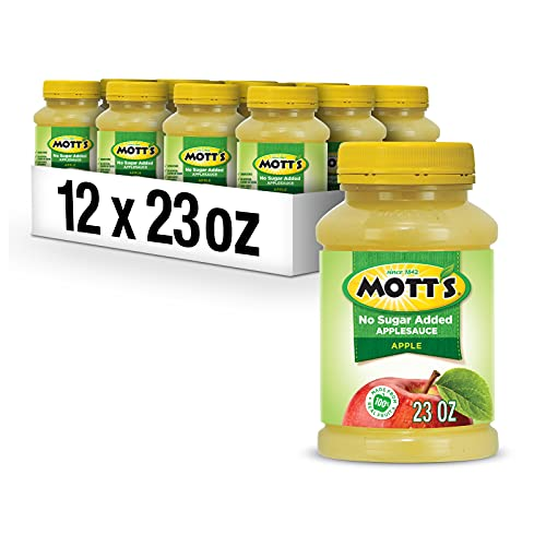 12 Pack Of Mott's No Sugar Added Applesauce For Just $12.21-$13.64 From Amazon