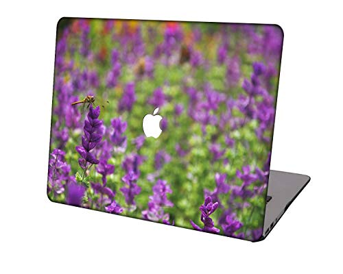 Laptop Case for Newest MacBook Pro 15 inch Model A1707/A1990,Neo-wows Plastic Ultra Slim Light Hard Shell Cover Compatible Macbook Pro 15 inch,Purple series 0841