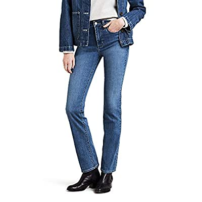 Levi's Women's 724 High Rise Straight Jeans, into The Groove, 31 (US 12) L