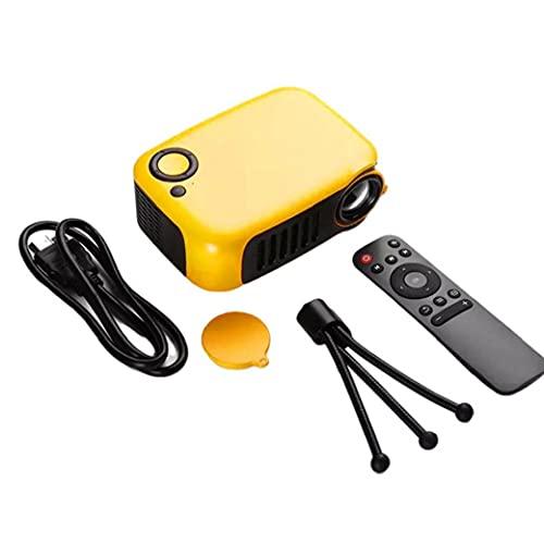 Proyector de video TV, mini proyector con altavoz incorporado Portátil Portátil Portátil Portátil de Video Proyector de video