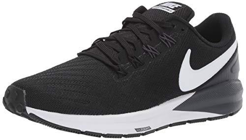 Nike Air Zoom Structure 22, Zapatillas de Correr Mujer, Negro (Black/White/Gridiron 002), 43 EU