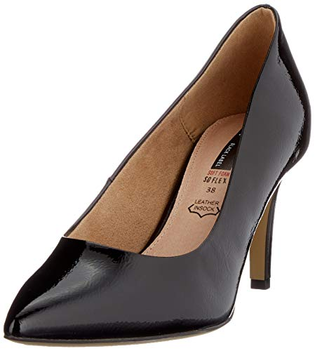 s.Oliver Damen 5-5-22403-24 Pumps, Schwarz (Black 001), 39