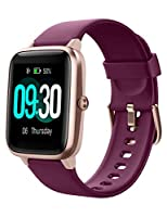 """♥【Smart watch for Android Phones Samsung iPhone】- Compatible with most iOS 8.0 & Android 4.4 above smartphones. Download and install Free """"VeryFitPro"""" APP, bind this smartwatch in your cell phone,you can receive alerts of calendar, SMS, incoming call..."""