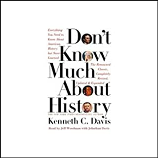 Don't Know Much About History audiobook cover art