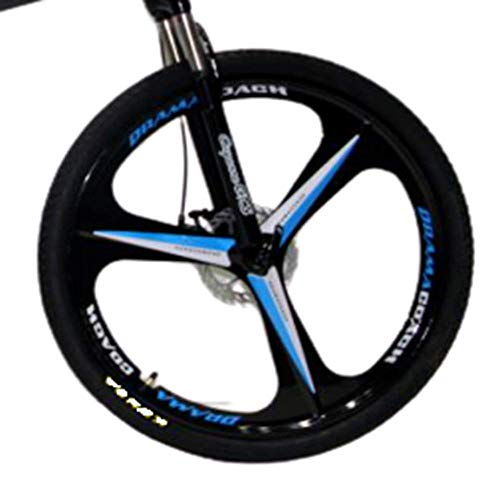 Novokart-Sports Pliables/vélo de Montagne 26 Pouces 3 Roue de Coupe, Jaune