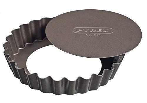 Pyrex - Asimetria - Set de 4 Tartelettes en Métal Anti-Adhésif Ø 10 cm