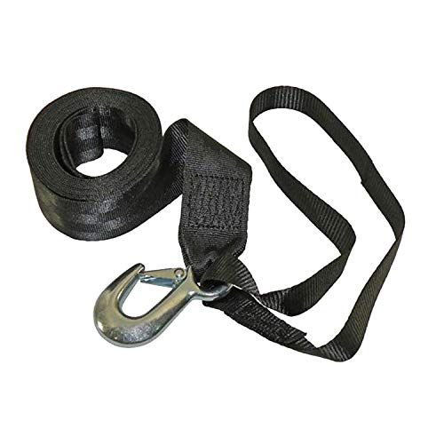 Fulton 501208 Winch Strap with Hook and Loop - 2' x 12'