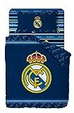 Real Madrid Juego De Sabanas de 3 Piezas Cama 90 (160x270 + 90x200/25 + 50X80) RM194001