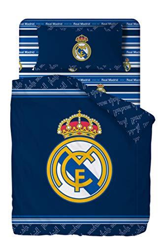 Real Madrid Juego De Sabanas de 3 Piezas Cama 90 (160x270 +