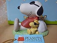 PEANUTS - Snoopy Joe Cool & Woodstock Figure - WESTLAND スヌーピー フィギュア 陶磁器