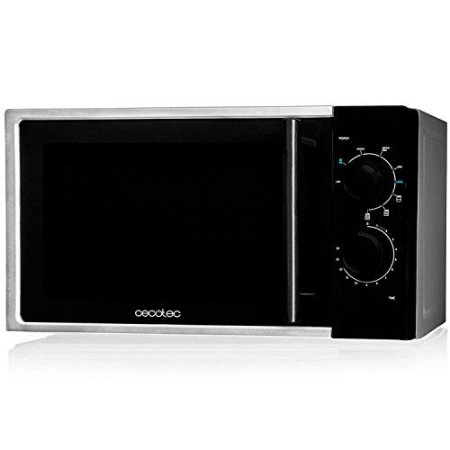 Cecotec Silver input 1200 W, output 700W, grill de 900W, 20 l, 9 niveles