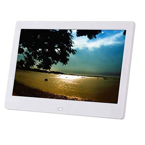 Digitaler Fotorahmen 10-Zoll-Werbemaschine für digitale Bilderrahmen Unterstützung der an der Wand montierten 1080P-Wiedergabe Unterstützung Kalenderwecker USB- und SD-Karte für die Anzeige von Foto