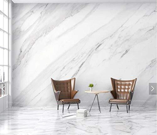 3D vliesbehang fotobehang abstracte Europese baksteen grijs wit marmer wandschilderij behang fotobehang voor woonkamer wanddecoratie 400*280 400 x 280 cm.