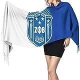 Jupsero Phi Beta Sigma moda chal largo invierno cálido entramado bufanda grande manta envolvente