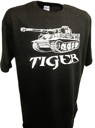 RTY Tiger Tank Panzer German World of Tanks Ss Division Ww2 1/35 Scale Rc Model Tee