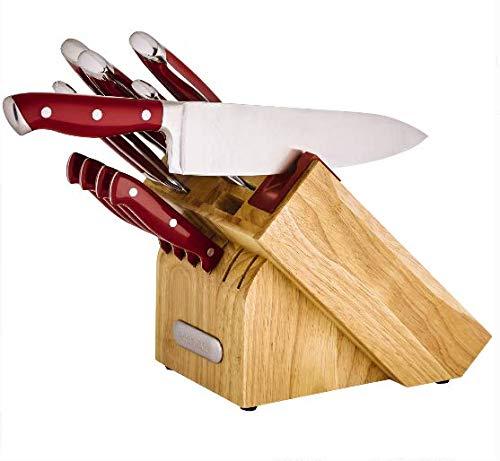 Farberware Forged Triple Rivet Navy Chef Knife Set 3 Piece Brickseek