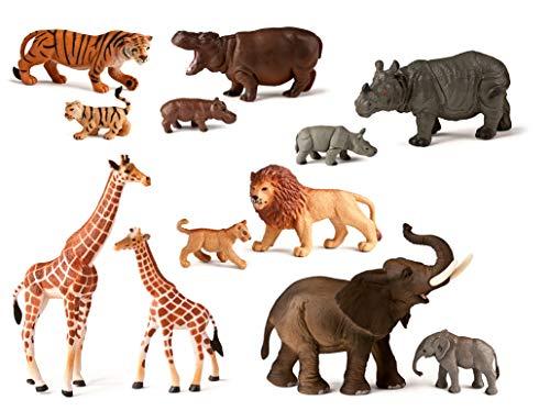 Miniland Salvajes Animales de Juguete (25137)