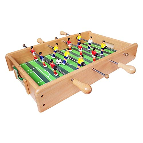 Read About Foosball Tables Wooden Children's Table Football Machine Desktop Table Toy Boy Adult Ente...