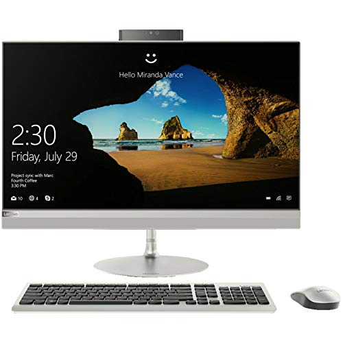 Lenovo IdeaCentre 520-27ICB 27' All in One PC Intel Core i5-8400T, 8GB RAM, 1TB HDD+16GB Optane Memory, Windows 10 - Silver