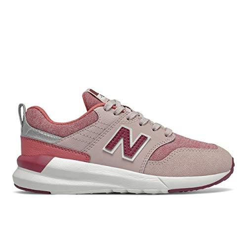 New Balance 009 YS009OS1 Wide, Zapatillas para Niñas, Pink (Space Pink OS1), 36 EU