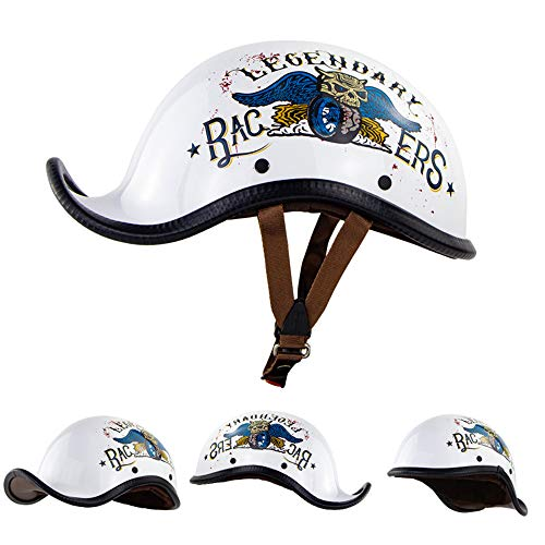Braveking Casco Moto Half Helmet Veranocasco Jet 1/2 Hombres Y Mujeres Casco...