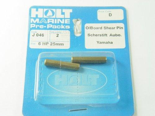 Scherstifte 25mm Yamaha Mariner 6PS  2Stk.