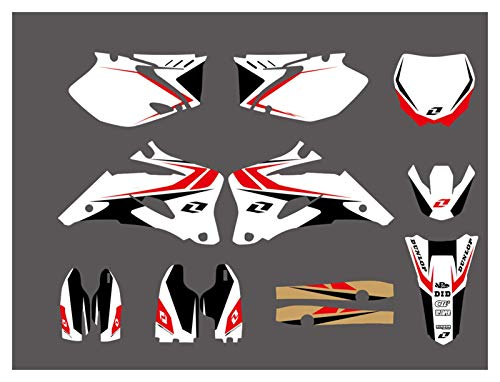 XUEFENG Motociclo Team Graphics Background Decalcomanie Adesivi per Yamaha YZ250F YZ450F YZF250 YZF450 2006-2009