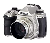 Pentax K-3 Mark III Flagship APS-C Silver Camera Body with Pentax HD 43mmF1.9 Limited Silver Limited Lens Standard Prime Lens