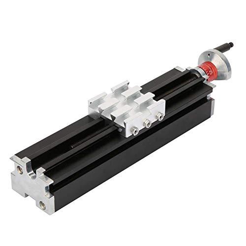 200mm Drehmaschine Metallschieber Cross Tuning Slider Block Aluminiumlegierung Schlitten für Drehmaschine Achse Y/Z Bearbeitung CNC Z010M