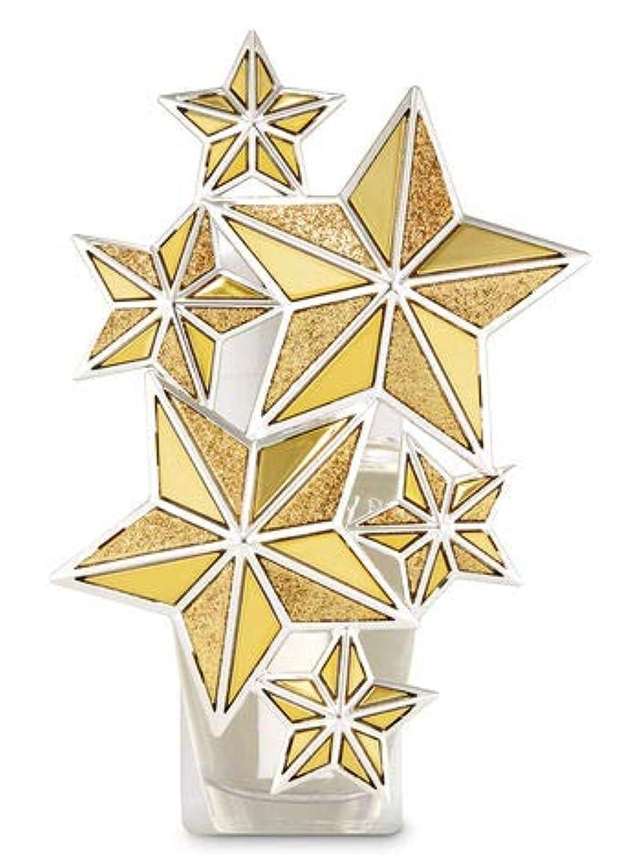 礼儀入射ノイズ【Bath&Body Works/バス&ボディワークス】 ルームフレグランス プラグインスターター (本体のみ) ゴールドスター ナイトライト Wallflowers Fragrance Plug Gold Star Night Light [並行輸入品]