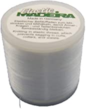 BlueArrowExpress 3 X Madeira Elastic Invisible Knitting-in Yarn 220 yd for Cuffs, Collars, Waists