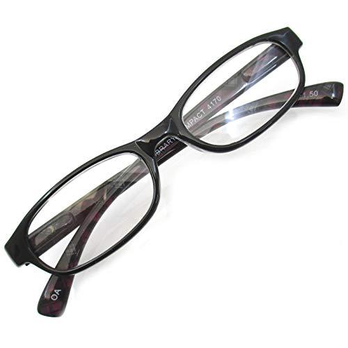 おしゃれ リーディングラス 老眼鏡 シニアグラス 首掛けホルダー 付き (+1.00)
