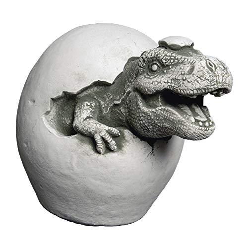 gartendekoparadies.de Lustiger Stein Dinosaurier Motiv I von III Massive Steinfigur Drachen Steinguss frostfest