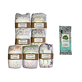 DiaperPax Diaper Variety Sampler Set, 7 Styles to Try, Pick Your Size