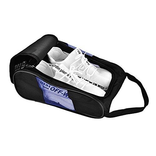 RiToEasysports Bolsa de Transporte de Zapatos de Golf de 2 Colores Bolsa...