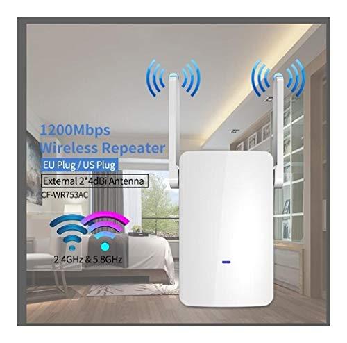 DCC 1200Mbps de Doble Banda de 2,4 GHz + 5 Amplificador Wireless Router WiFi de Alta Potencia repetidor Extensor de Largo Alcance WLAN