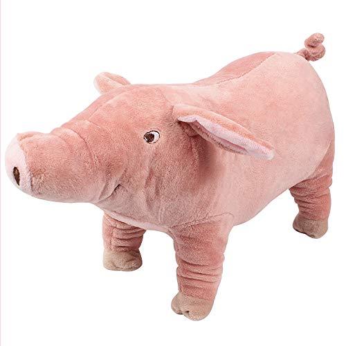 Yurika 犬おもちゃ ぬいぐるみ 可愛い豚 犬 歯磨きドギーマン 犬 誕生日 プレゼント テディ ゴールデンレトリバー ペットおもちゃ 丈夫(L)