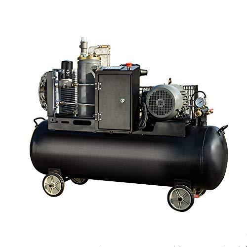 Conjunto Tornillo con el Tanque Compresor de Aire 7.5Kw Móvil Compresor Bajo Consumo Poder Tornillo Doble Separación de Aceite Y Gas Ingenieria/Negro/M